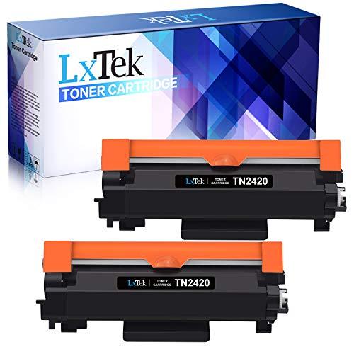 LxTek TN2420 TN-2420 Ersatz Kompatibel für Brother TN2410 TN-2410 Toner für Brother MFC-L2710DW HL-L2350DW DCP-L2530DW MFC-L2710DN DCP-L2510D HL-L2310D HL-L2370DN HL-L2375DW DCP-L2550DN MFC-L2750DW