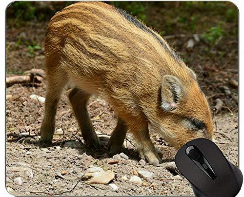 Yanteng Cute Pig Diseño Personalizado Alfombrillas de ratón para Juegos extendidas, Hog Wild Año Nuevo de Pig Gaming Mouse Pad