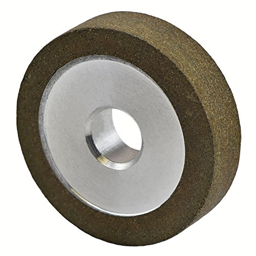 MaxTool Diamond 1A1 Plain Grinding/Abrasive/Polish Wheels OD 1' Bore 0.25' T0.25' G150 Resin Bond NDR1A1D1T06X3G15