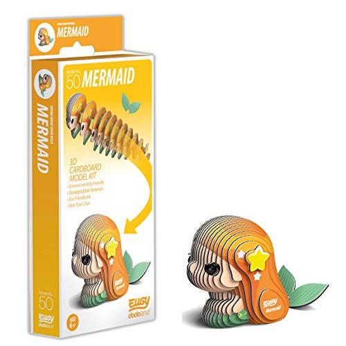 EUGY 3D Mermaid Model, Craft Kit