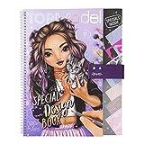 Depesche- Libro da colorare Special Design Book, Top Model, con Stencil, Foglio con Motivo e Molti Accessori, Circa 29,5 x 23,7 x 1,5 cm, 11253