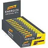 Powerbar Energize Original Cookies & Cream 25x55g-Barra de Alta Energía de Carbono + C2MAX Magnesio y Sodio