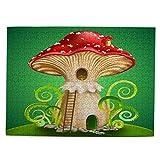 Puzzle 500 Piezas-Rompecabezas Adultos-Seta mágica casa de Hadas Ventana roja-Juegos Educativos-Entretenimiento,Niños y Adolescentes,Divertido Regalo