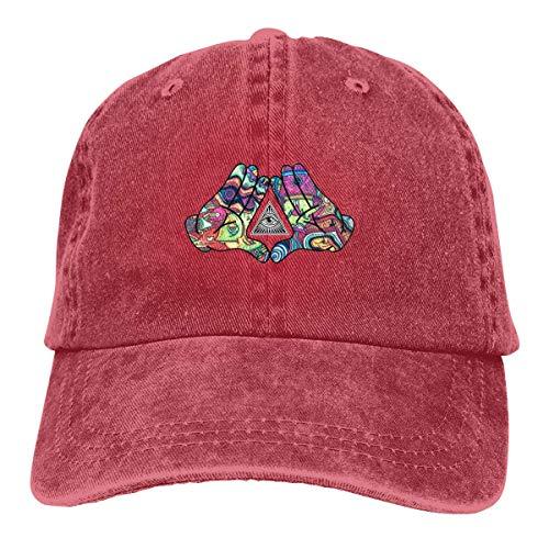 Voxpkrs Trucker Cap Diamond Hands Trippy Logo Durable Baseball Cap,Adjustable Dad Hat Black asdfghjklzxc15689