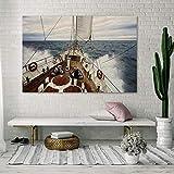 DECORARTE - Cuadros Impresión Digital - Fotografía sobre Cristal Barcos 025 (150x100)