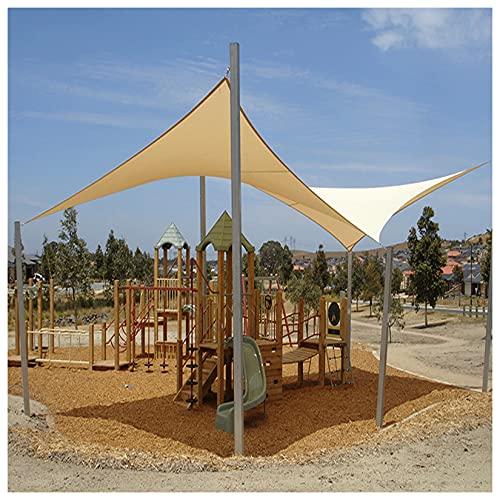 toldo que Vela De Sombra Toldo/Vela De Sombra Impermeable Tasa De Sombreado 90% Impermeable/Protector Solar/Resistente Al Viento/Resistente A La Lluvia Para Piscina,Exterior,Pé(Size:3*3M(9.8*9.8FT))