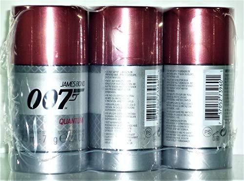 James Bond 007 Quantum Deo Stick 75 ml (3-er Pack)