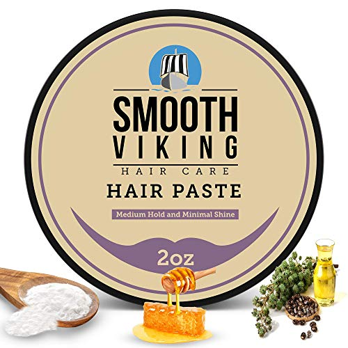 Hair Cream For Men | Smooth Viking Forming Cream for Hair (2 Ounces) - Hair Styling Cream for Matte Finish & High Hold - Water Soluble Hair Shaping Cream For Everyday Use