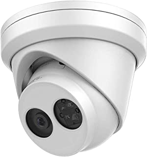 Hikvision 8MP PoE IP Camera, DS-2CD2385FWD-I 2.8mm Fixed Lens Turret Network Security Camera, IP67 Weatherproof, ONVIF International Version (Firmware can Upgraded)