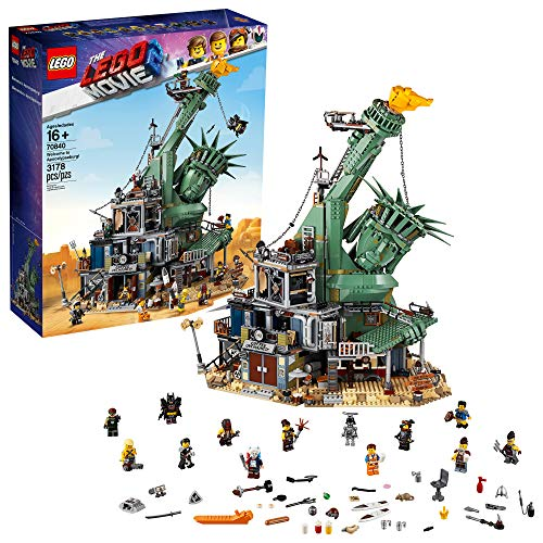 THE LEGO MOVIE 2 Welcome to Apocalypseburg! 70840 Building Kit (3178 Pieces) (Discontinued by Manufacturer)