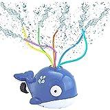 BESTZY Sprinkler für Kinder, Wassersprinkler Garten Kinder Wasserspielzeug für Gartenschlauch Sprinkler Rasensprenger Gartensprenger für Outdoor Garten,Wasserspielzeug (Grau)