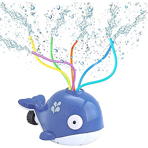 Aspersor para niños, Juguete de Agua para Niños, J uguete de Rociador, Juguetes para Rociadores de Agua para CÉsped de JardÍn, Juguete para JardÍn AI Aire Libre(Gris)