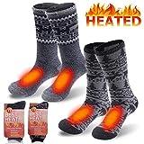 Men's Sports Thermal Socks, Sunew Fashion Warm Thick Insulated Heat Boot Skiing Trekking Socks Big Boys,...