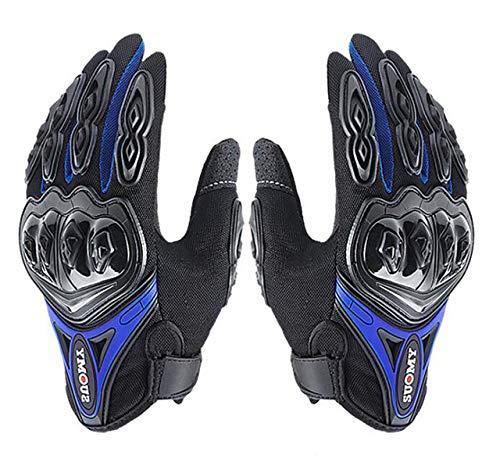 Bruce Dillon Herren Motorradhandschuhe wasserdicht Motorradhandschuhe Winddicht Touchscreen Motorrad Racing Reithandschuhe Winter - A2 XM