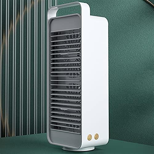 cyg Ventilador De Torre, Creatividad Ventilador De Columna Silencio Oscillating Tower Fan Tipo De Carga USB para El Dormitorio De La Oficina En Casa Ventilador De Oscilación Fan (Color : A)