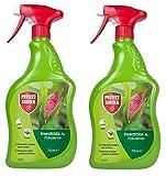 PROTECT GARDEN - Pack de 2 - Insecticida polivalente AL para jardín, Antiguo Decis, pulgones y oruga...