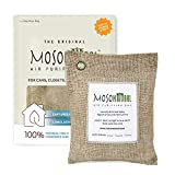 MOSO NATURAL Air Purifying Bag 200g. Odor Eliminator, Odor Absorber for Cars and Closets. Beige...