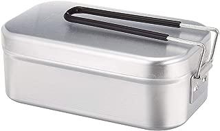 飯盒 メスティン 飯ごう アルミ アウトドアコッへル・クッカーセット ランチボックス 調理器具 野外 ピクニック キャンプ用食器
