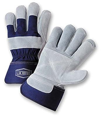 IRONCAT Premium Split Cowhide Leather Work Gloves