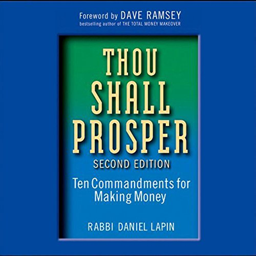 Thou Shall Prosper  audiobook cover art