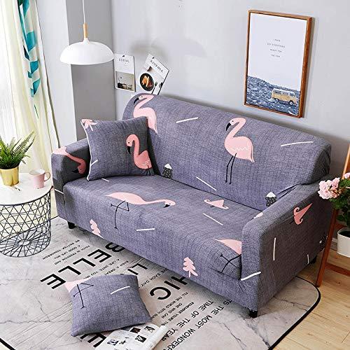 WXQY Funda de sofá elástica Funda de sofá, Funda de sofá elástica Todo Incluido para Diferentes Formas de sofás, Funda de sofá en Forma de L para Silla A10 4 plazas