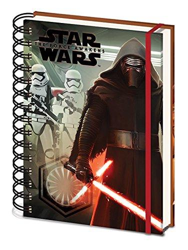 Star Wars épisode sr71993 VII Kylo Ren et Storm Troopers Carnet A5