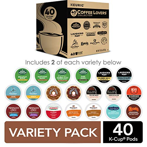 Our #5 Pick is the Keurig Coffee Lovers' Collection Sampler Pack