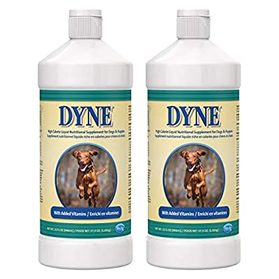 PetAg Dyne High-Calorie Liquid Nutritional Supplement for Dogs & Puppies - Provides Energy, Vitamins, & Extra Nutrition for Pets