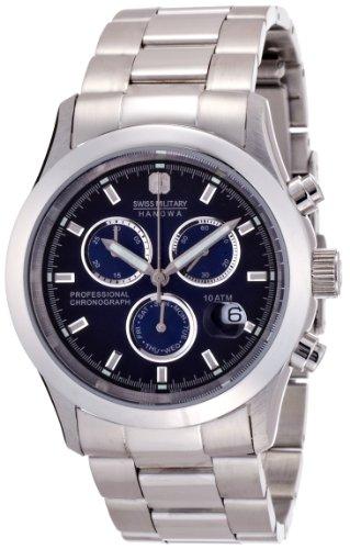 『[スイスミリタリー]SWISS MILITARY 腕時計 エレガントクロノ MILITARY-245 メンズ [正規輸入品]』のトップ画像