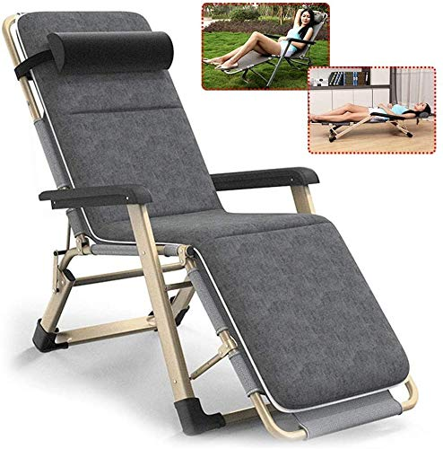 COLOM Sun Lounger, Sunbed, Reclining Sun Chair, Outdoor Folding Zero Gravity Chair with Cushions Recliner Adjustable Sunloungers Chairs, Heavy Duty Chairs Office Lunch Break Chair for Patio Camping Be