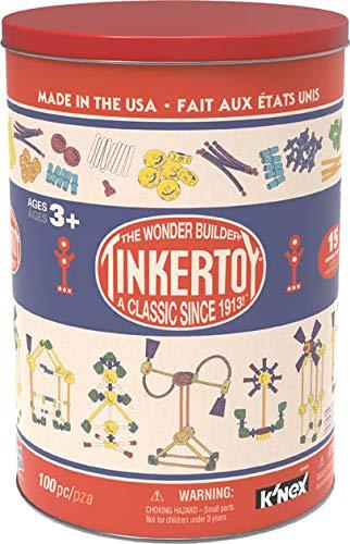K'NEX Tinkertoy Retro Tin