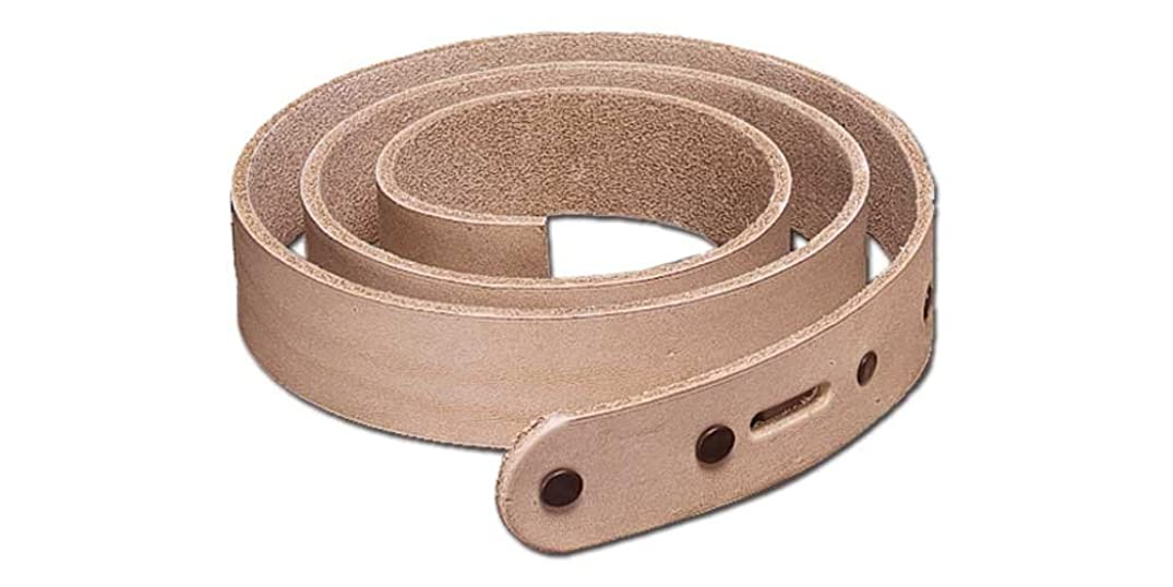 Tandy Leather Natural Cowhide Belt Blank 1