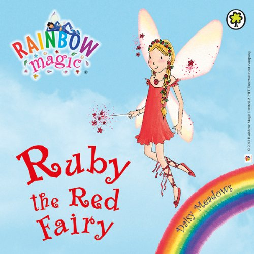 Rainbow Magic: Ruby the Red Fairy audiobook cover art