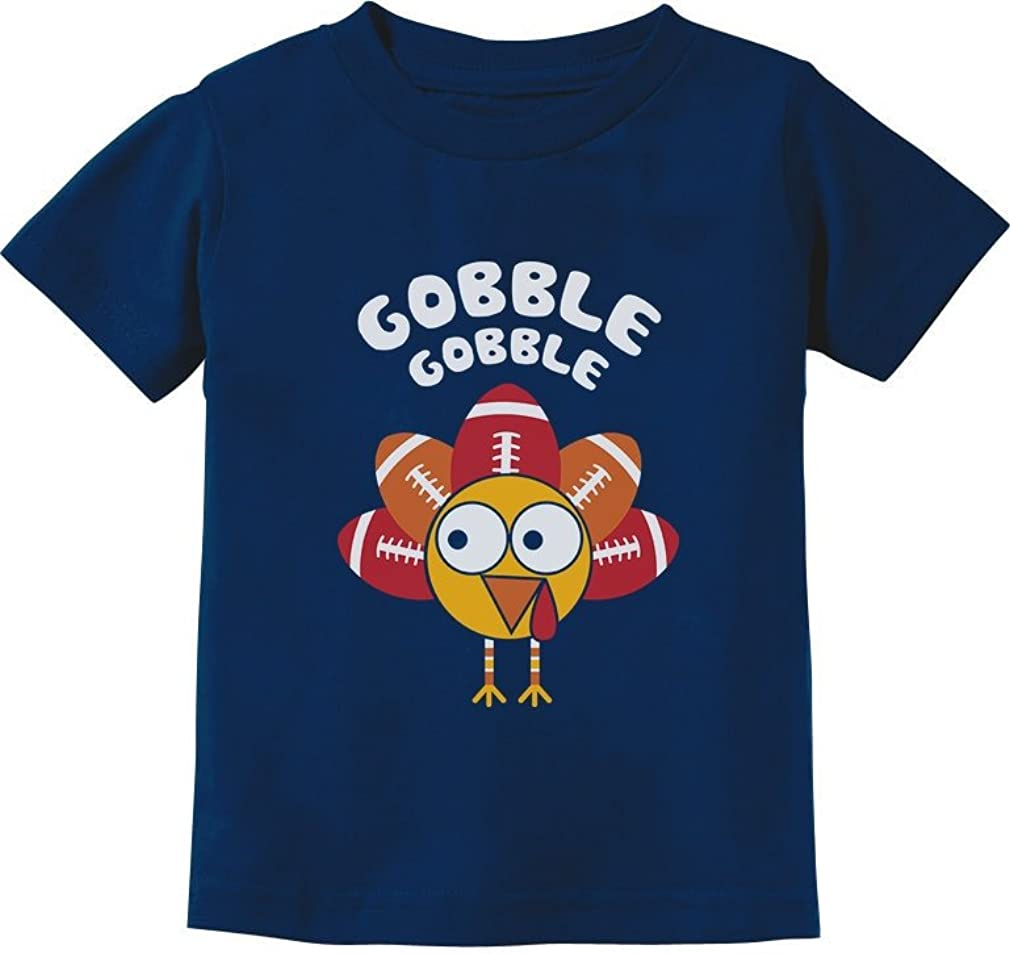 Turkey Gobble Gobble Shirt Thanksgiving Toddler Infant Kids Tshirt