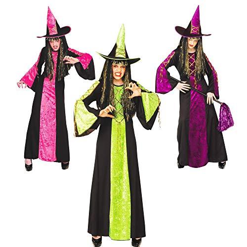 Widmann kostuum meisje heks van het slot as In verschillende kleuren. 128 cm / 5-7 anni Veelkleurig.