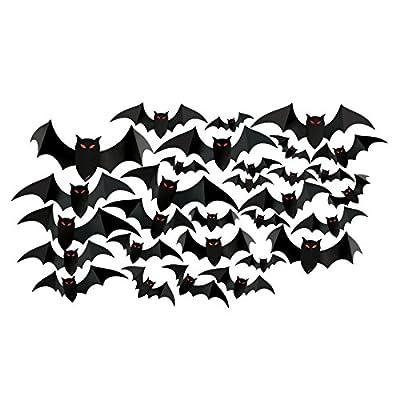 Amscan Halloween Cemetery Bat Cutouts Mega Value Pack