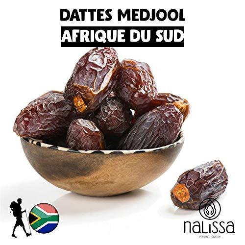 NALISSA® DATTES MEDJOOL JUMBO D'AFRIQUE DU SUD 🇿🇦 - 500G - QUALITE PREMIUM