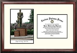 Campus Images MI987V Michigan State University, Spartan, Scholar Diploma Frame, 8.5
