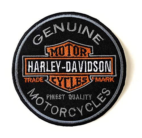 Écusson Harley Davidson à coudre ou à repasser