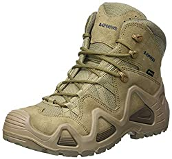 Lowa Mens Zephyr Gore-Tex Mid Task Force Coyote Leather Boots 8.5 US