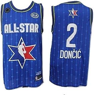WOLFIRE WF Camiseta de Baloncesto para Hombre, NBA, All-Star. Kobe Bryant Antetokounmpo James Leonard Walker Davis Doncic Young. Bordado
