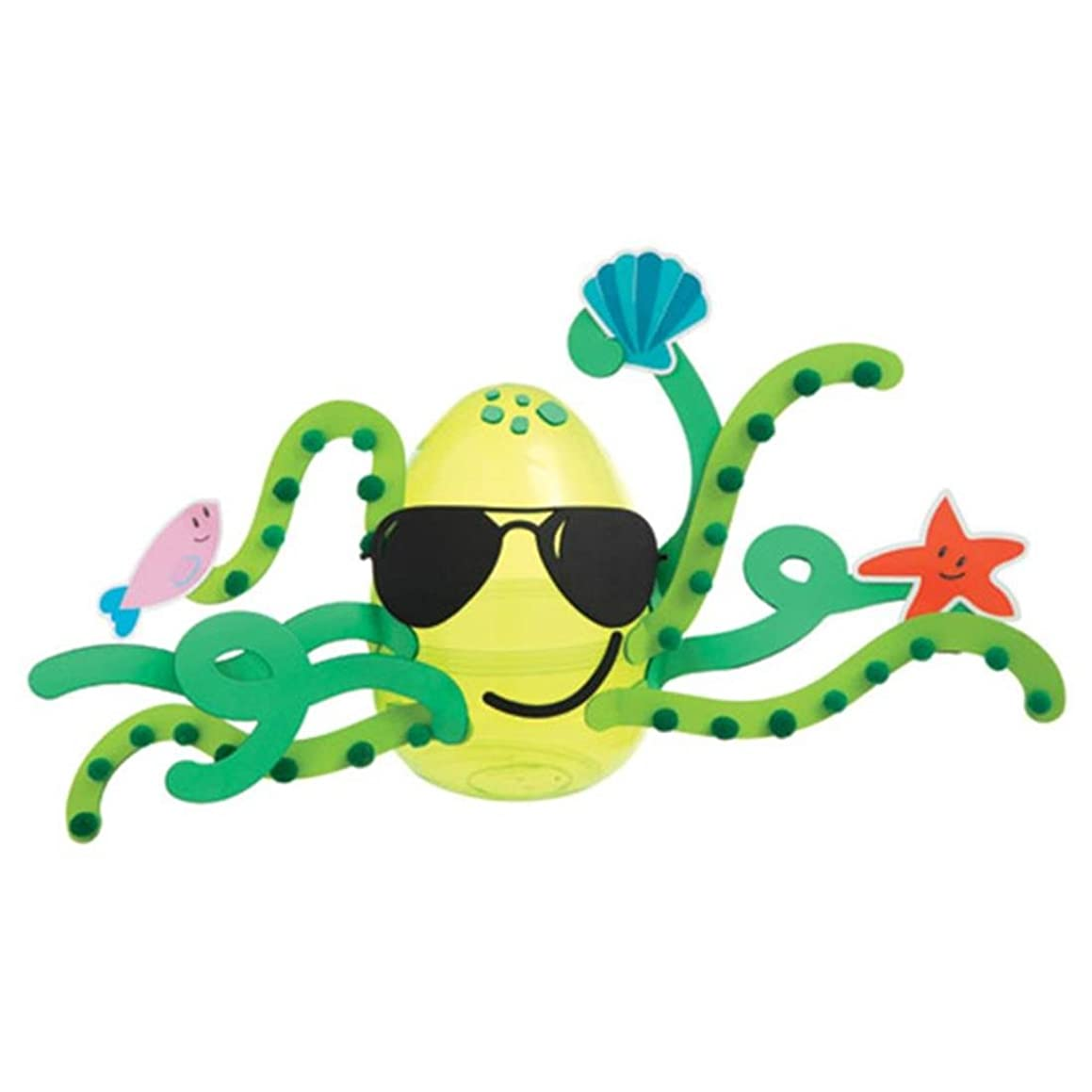 Darice 30023990 Foamies Octopus Egg Kit: Plastic/Foam-4.75 x 7.5