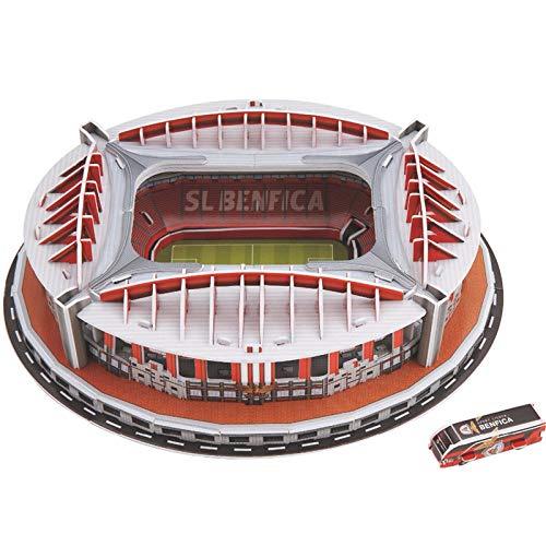 Rompecabezas Clásico 3D Rompecabezas Arquitectura Estadios De Fútbol Juguetes Modelos Juegos Papel De Construcción
