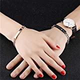 Immagine 1 mingze coppia bracciali braccialetto lui