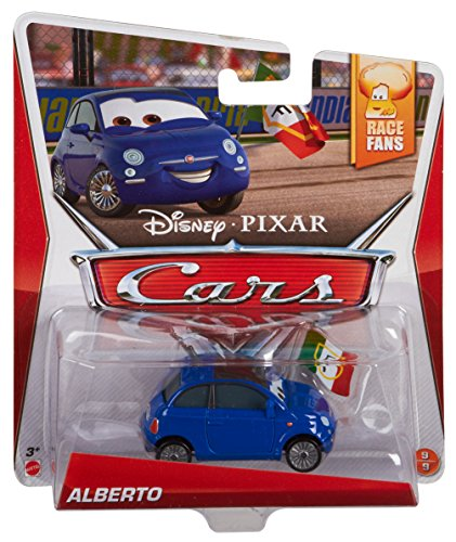 Disney Pixar Cars Alberto (Race Fans Series, # 9 of 9) - Voiture Miniature Echelle 1:55