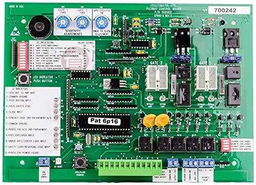 Find Bargain US Automatic Patriot Control Board Gate Operator Q7000 Circuit Board 500001 US-627616 U...