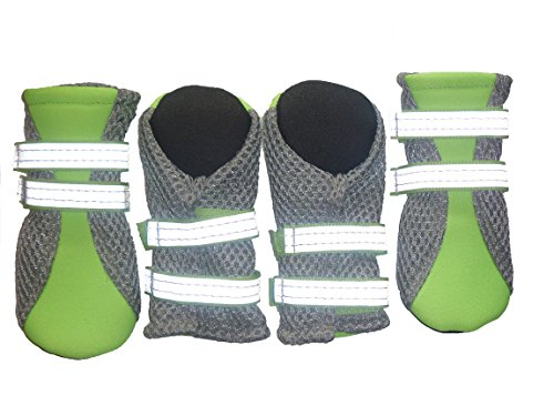 LONSUNEER Puppy Daily Soft Sole Nonslip Mesh Boots