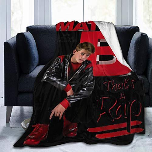 Best Fleece Bed Blankets, Mattyb Rap Halloween Throw Blankets, All Seasons Ultra Cozy Unique Blanket for Men Sofa Holiday Adult Children's Nap Blanket