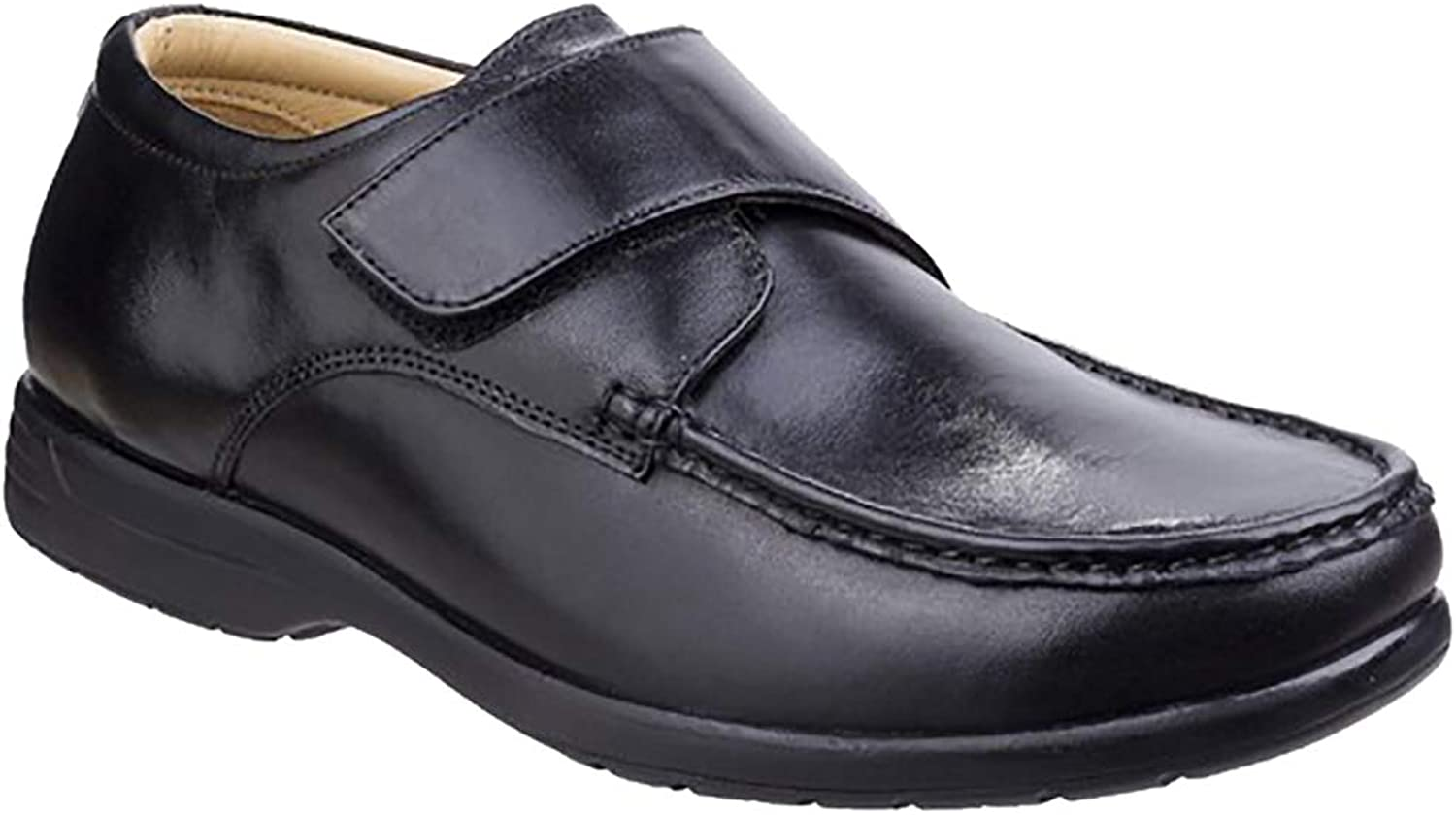 Fleet  Foster Mens Frot Dual Fit Touch Touch Touch Fastening Moccasin schuhe eae