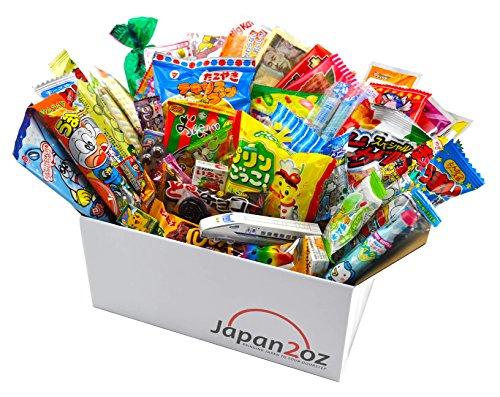 Japanisches Süßigkeiten-Set und Snack Sortiment 50 Stück